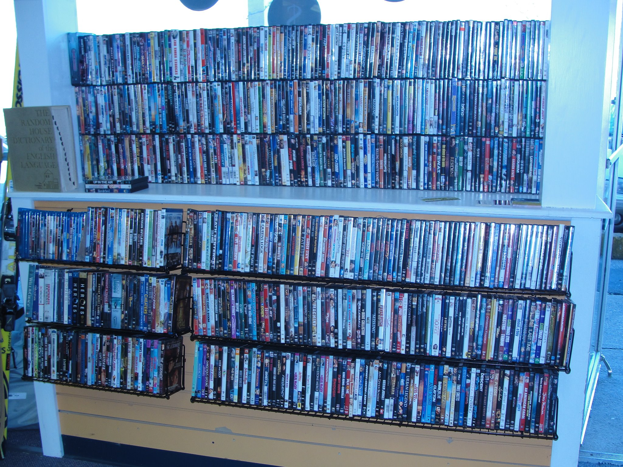 DVDs are just one dollar each!