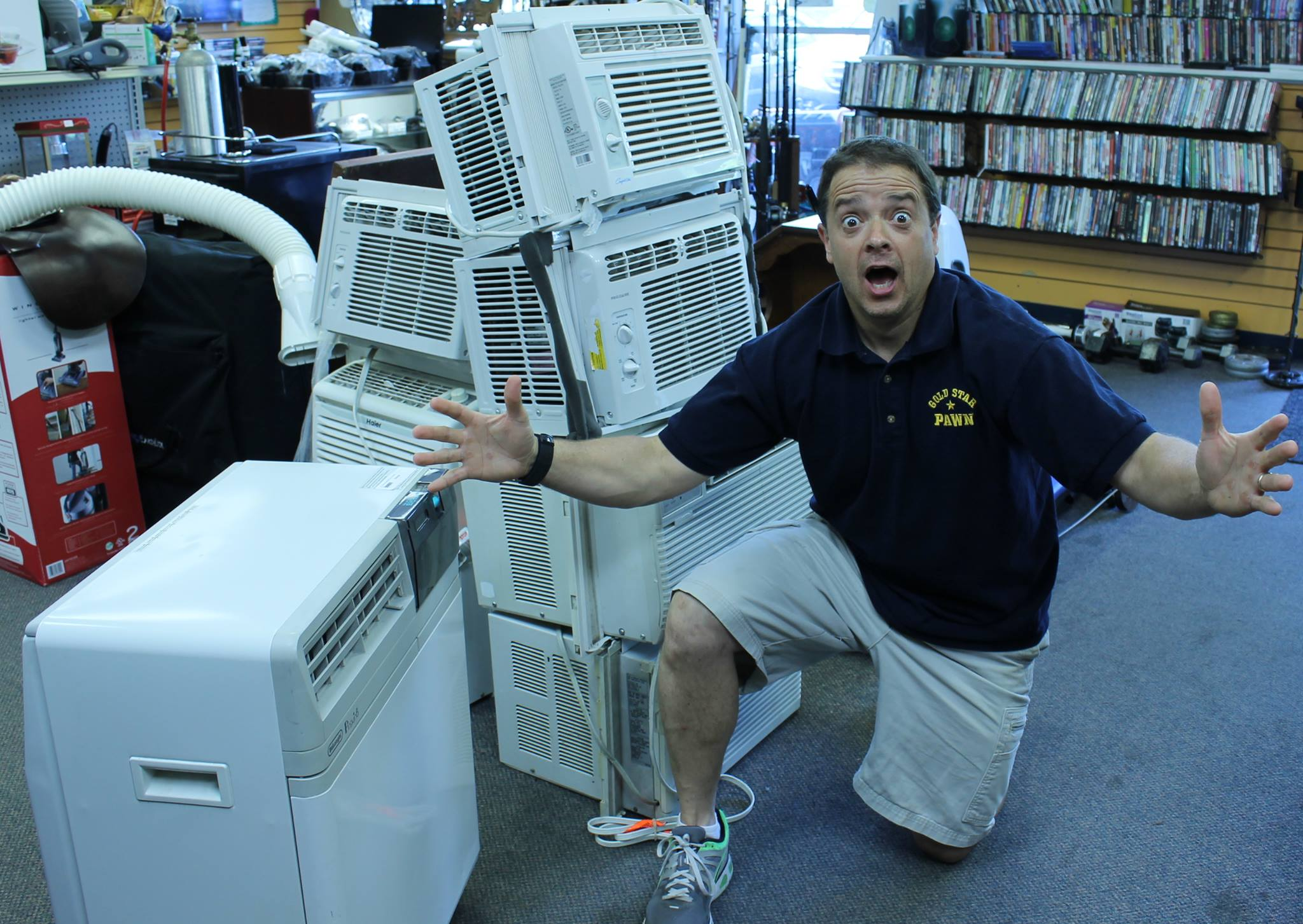 Air conditioners are always in stock!